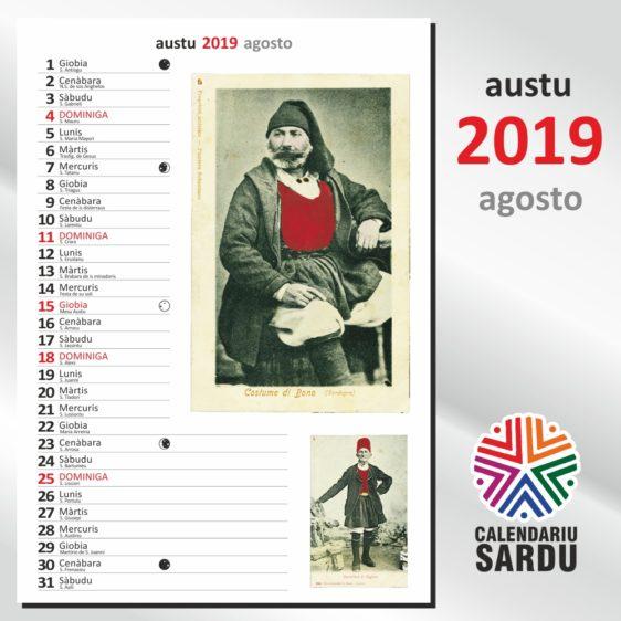calendariu sardu