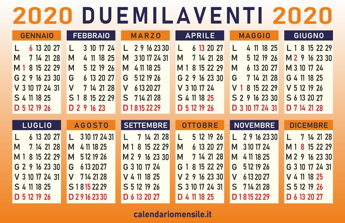Calendario Personalizzato Con Foto 2020.Calendario Luglio 2020 Da Stampare Gratis