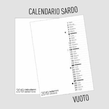 calendario sardo
