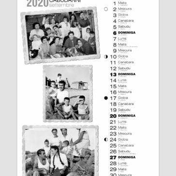 calendario 2020 cabras
