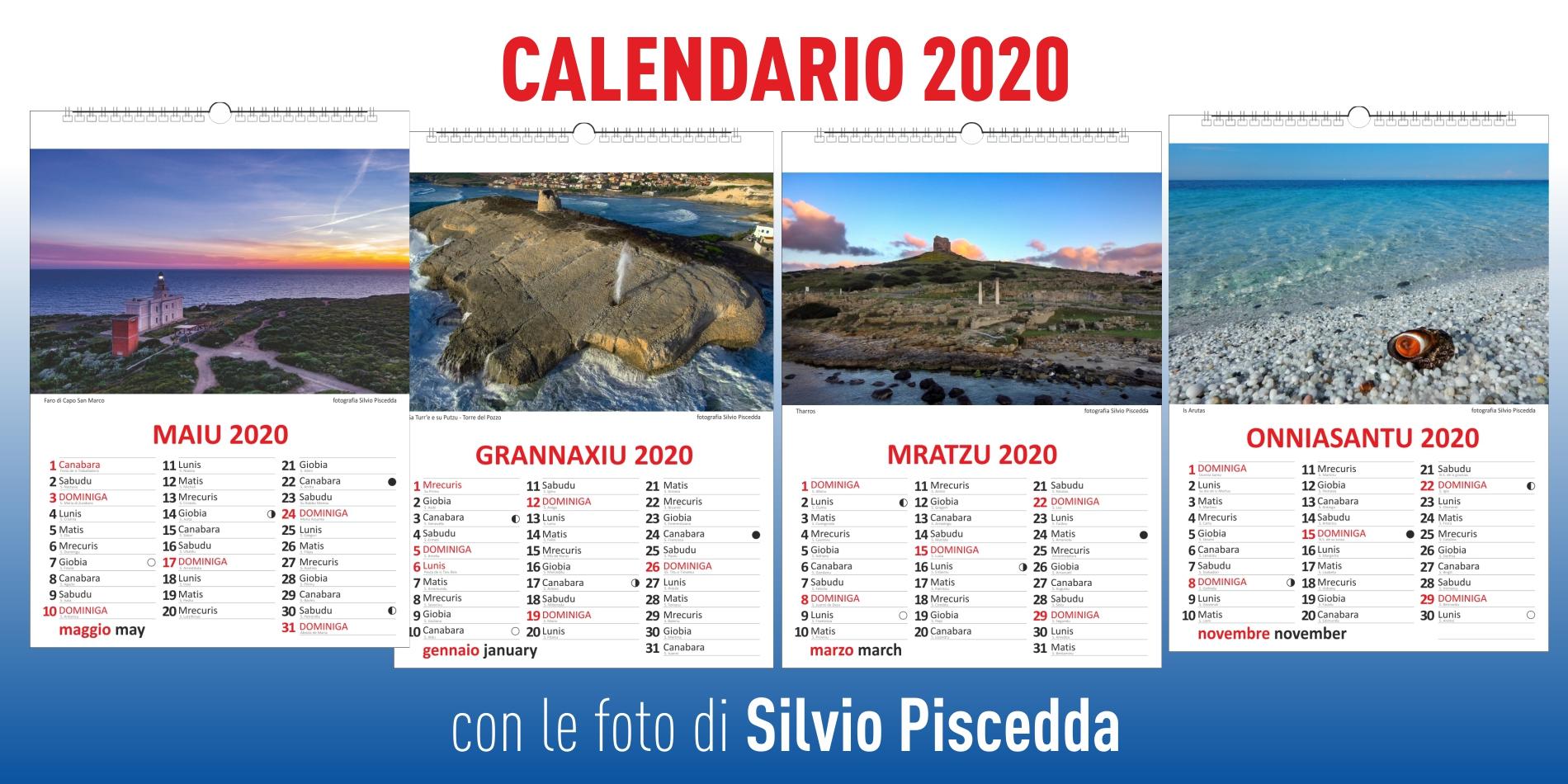 calendario 2020 silvio