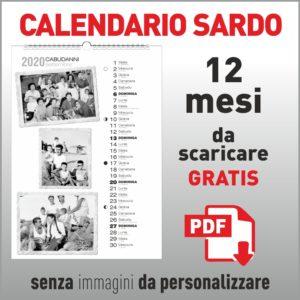 calendario sardo gratis