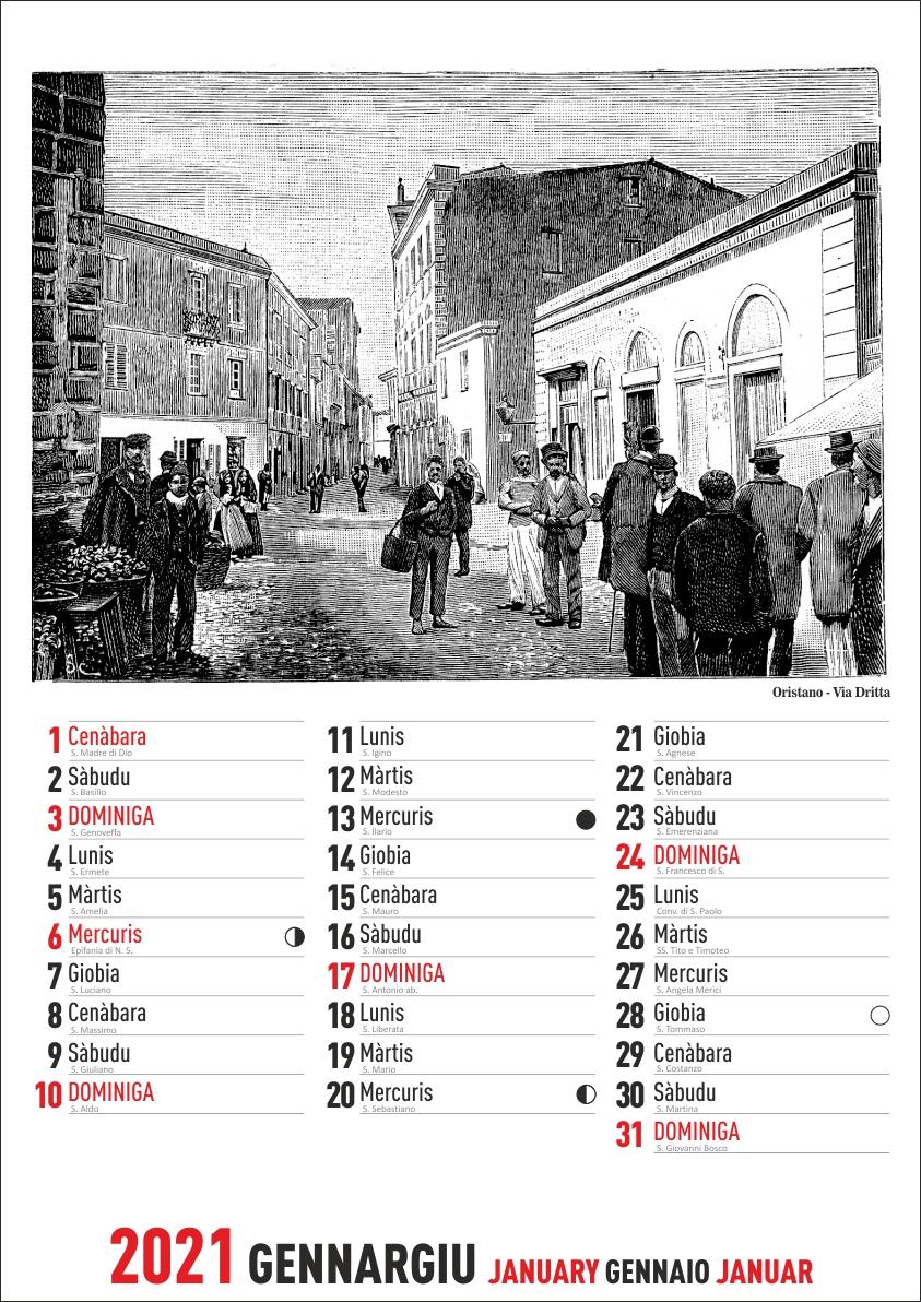 Calendario Sardo 2021 – Calendario Sardo
